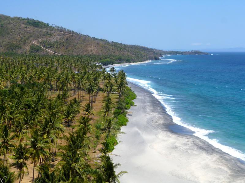 Auch Lombok hat traumhafte Strände zu bieten - u.a. an der Westküste bei Senggigi