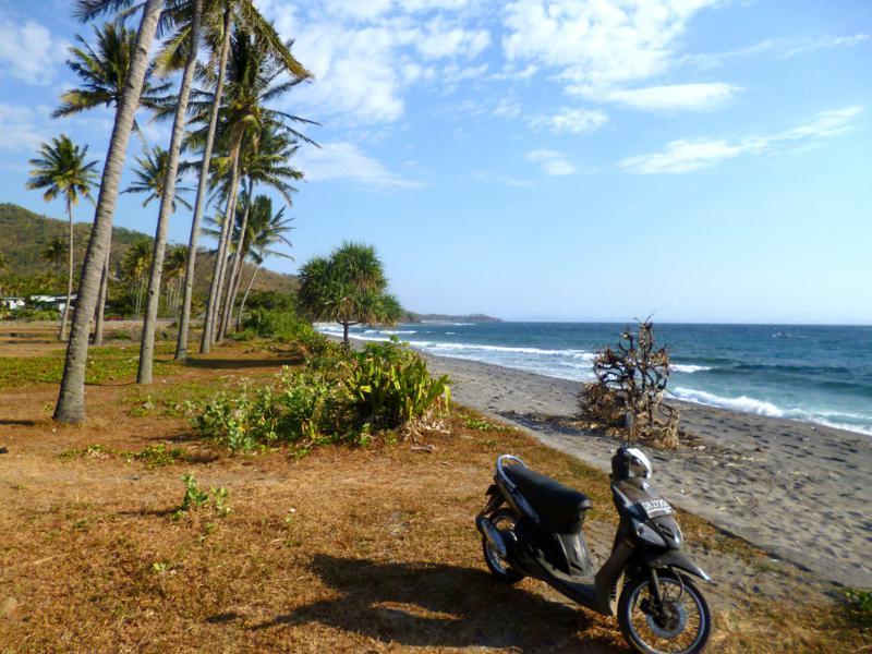 Eine Mopedtour in Lombok ist ein tolles Erlebnis