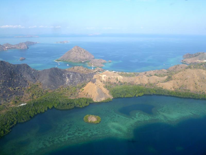 Flug mit Garuda Indonesia von Labuan Bajo nach Ende