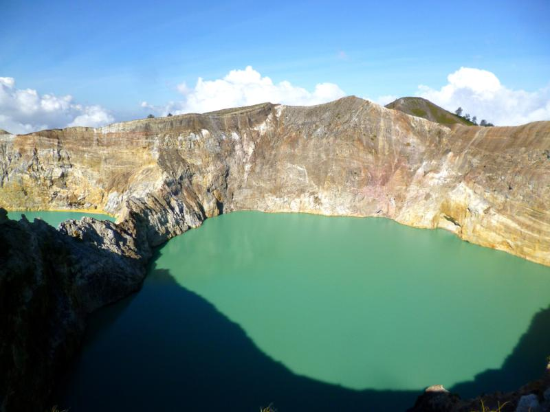 Der Kelimutu National Park auf Flores in Indonesien
