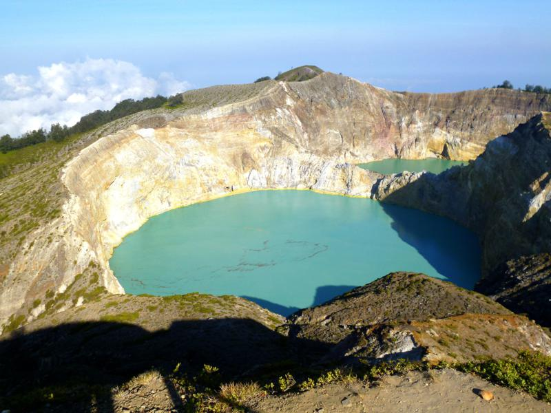 Der Kelimutu National Park auf Flores in Indonesien