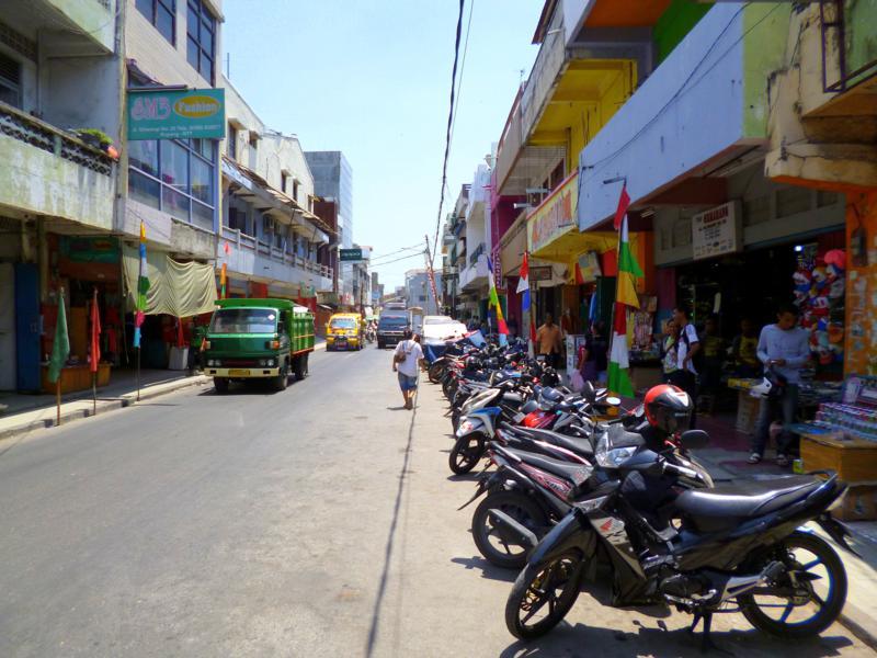Kupang in Westtimor, eine der Provinzen von Indonesien