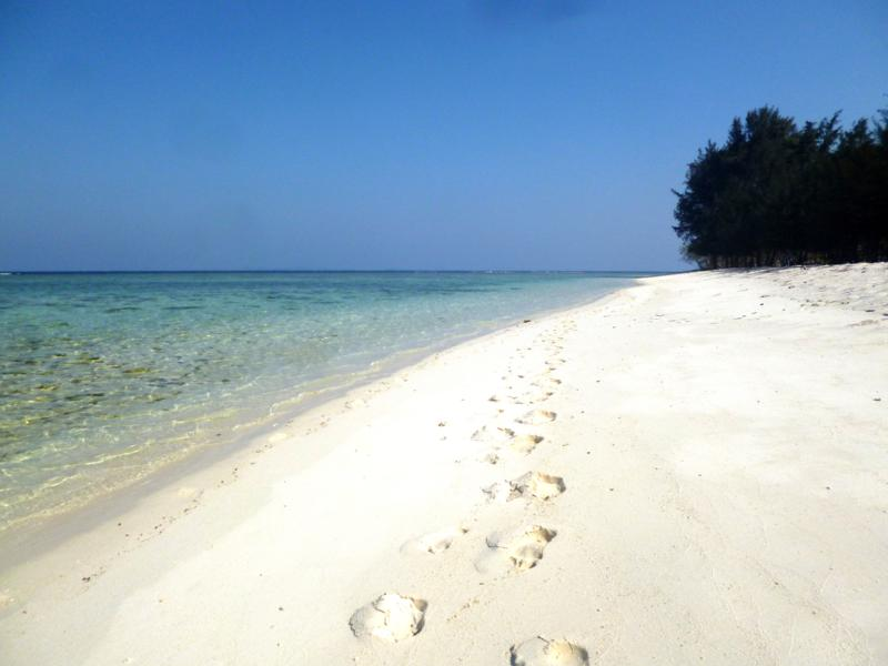 Das Inselparadies der Karimunjawa Islands in Java, Indonesien