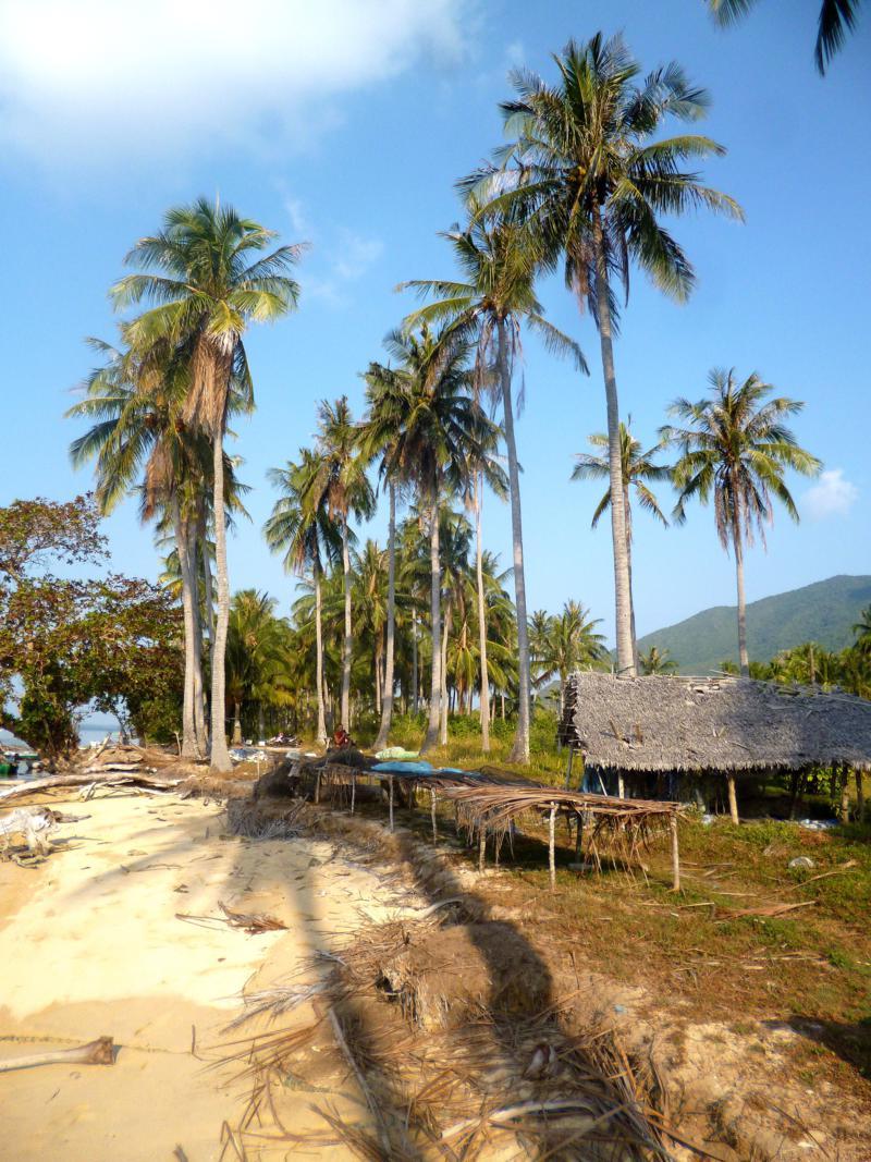 Das Inselparadies der Karimunjawa Islands in Java, Indonesien
