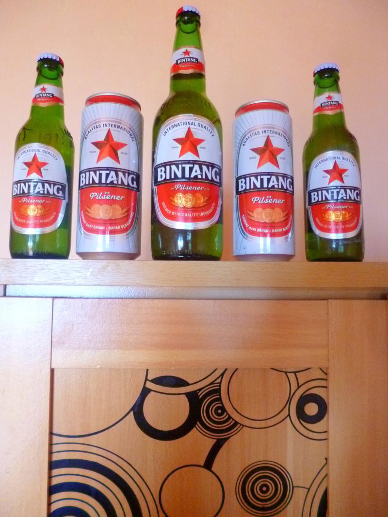 Indonesien Bier Nr. 1 - Bintang