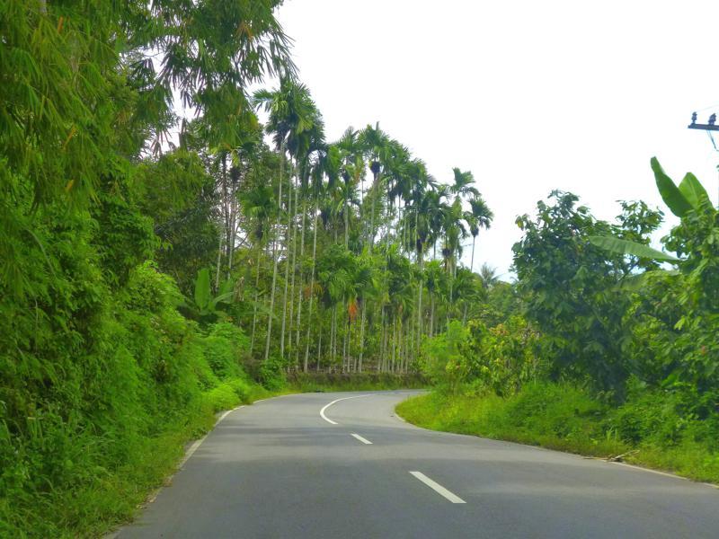 Schöne Landschaften in Zentral- und Nordsumatra