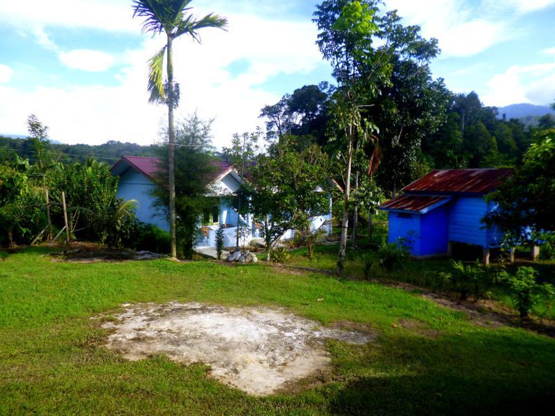 Das Friendship Guesthouse in Ketambe auf Sumatra, Indonesien