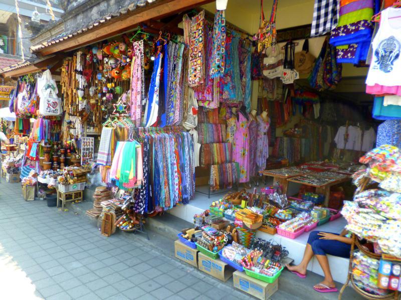 Ubud - eines der touristischen Zentren auf Bali in Indonesien