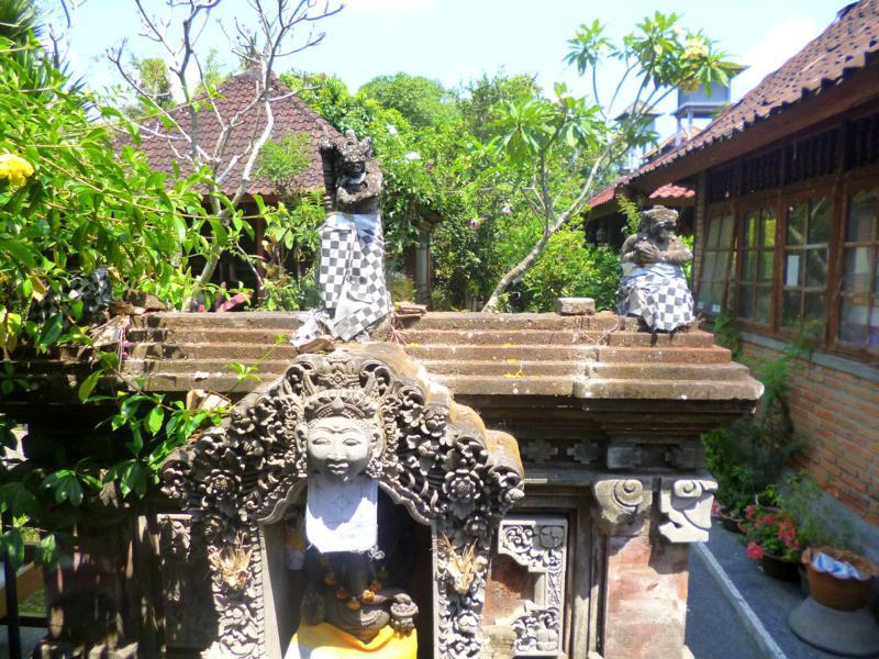 Das Zentrum von Ubud hält viele kleine Hinterhöfe bereit