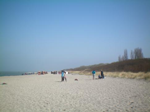 Der Strand von Timmendorf auf der Insel Poel - nicht zu verwechseln mit dem Timmendorfer Strand