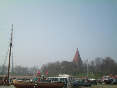 Die Dorfkirche im Hauptort der Insel Poel, Kirchdorf