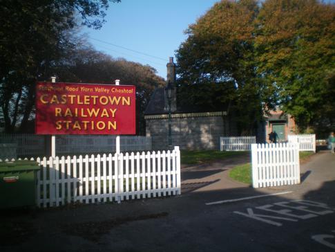 Der Bahnhof in Castletown