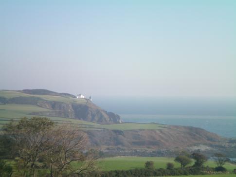 Blick auf die Küste der Isle of Man