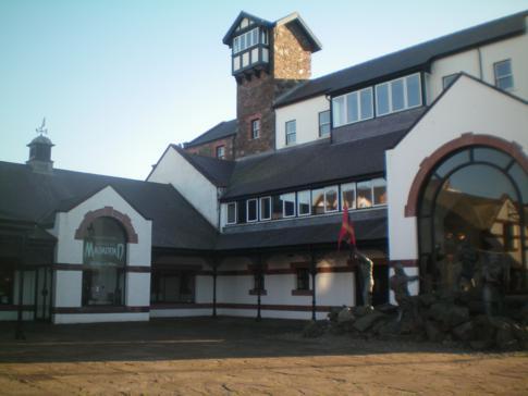 Das House of Manannan auf der Isle of Man im kleinen Ort Peel