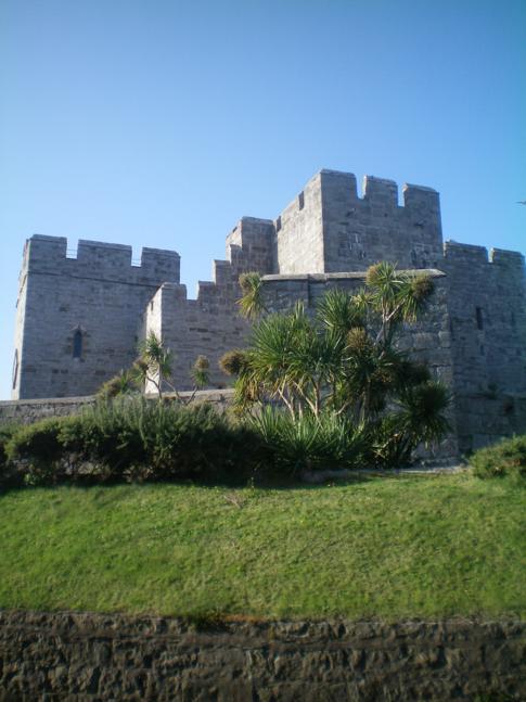 Das Castletown Castle auf der Isle of Man