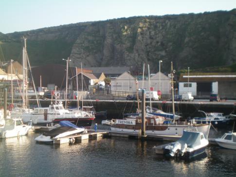 Der Jachthafen in Douglas