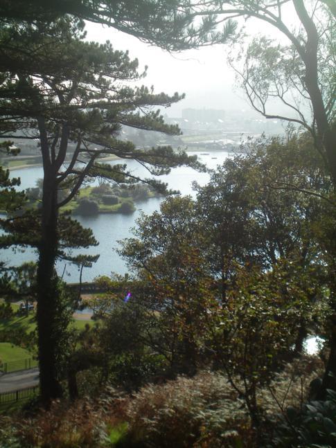 Der Mooragh Park in Ramsey im Norden der Isle of Man