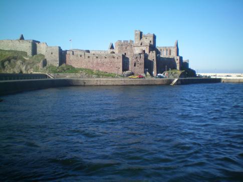 Das Peel Castle im Osten der Isle of Man