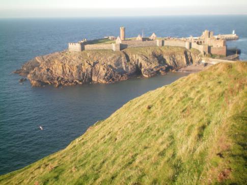 Blick auf das Peel Castle
