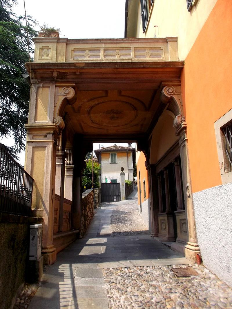 San Vigilio, ein Teil der Citta Alta von Bergamo