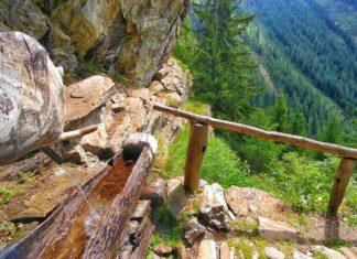 Wandern im Nationalpark Stilfser Joch – der Wasserfall Cascata del Saènt und die Alm Malga Pra di Saent