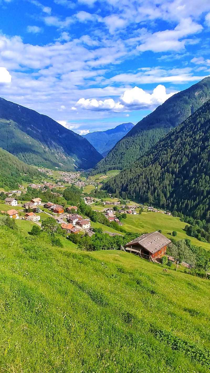 Das ursprüngliche und beeindruckende Val di Rabbi im Norden von Italien