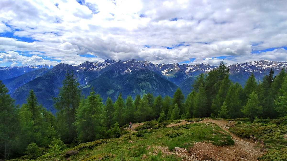 Tolle Bergwelt der Ortlergruppe im Norden von Italien