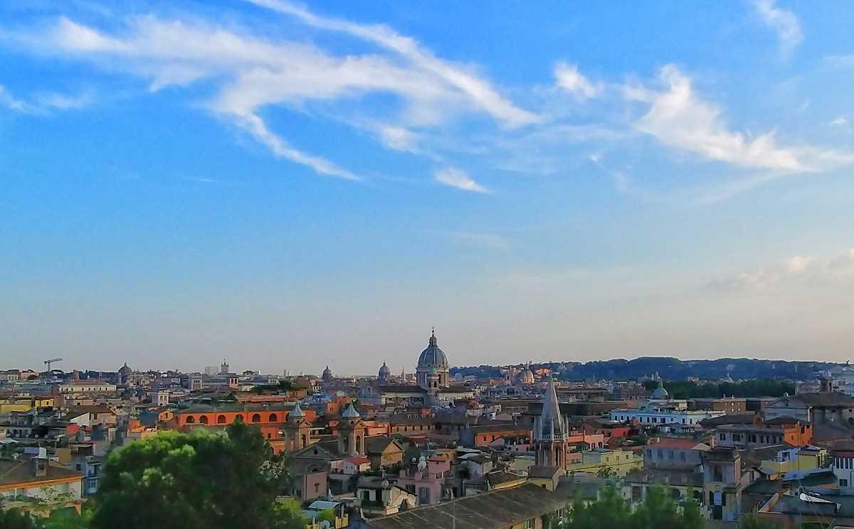 Aussicht über das historische Rom