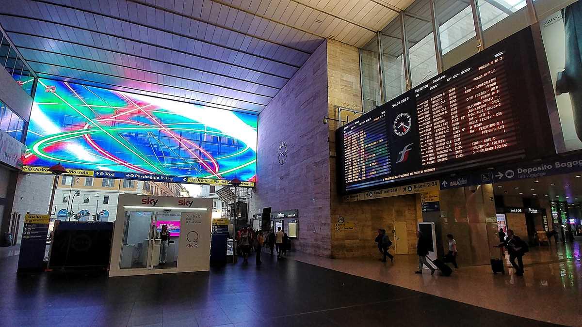 Der Hauptbahnhof von Rom