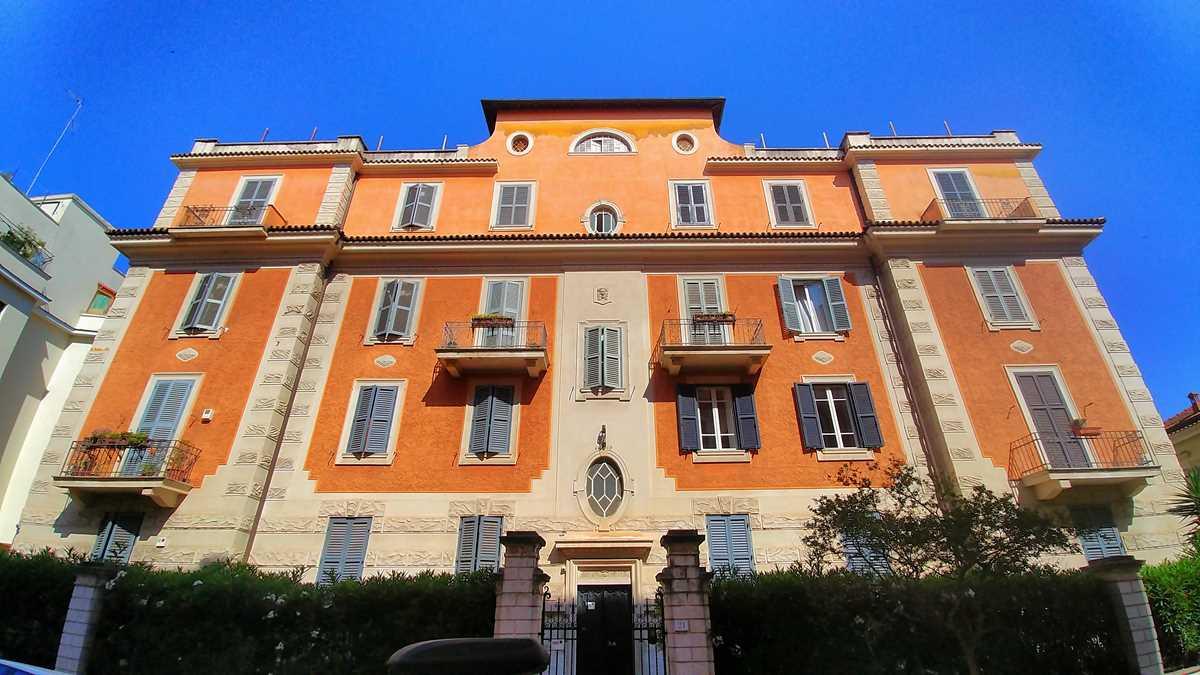 Hübsche Wohnviertel außerhalb von Roms Altstadt, hier in der Gegend Nomentano