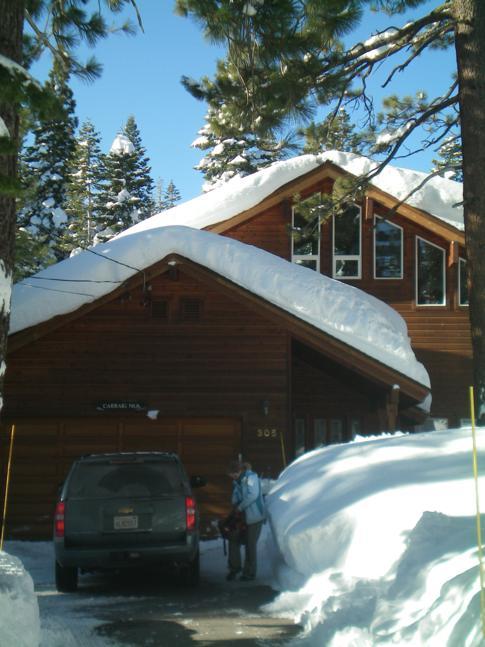 Unser Ferienhaus in Tahoe City am Lake Tahoe