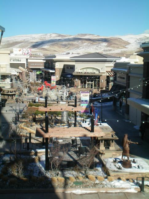 Das Sparks Outlet Center bei Reno in Nevada