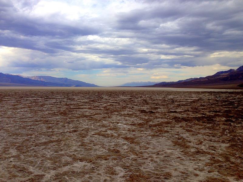 Das Death Valley, tiefst gelegener Punkt der USA