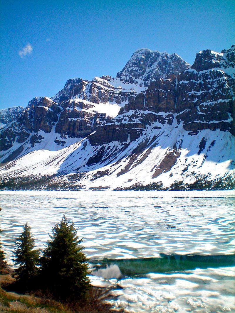 Der Bow Lake im Banff National Park