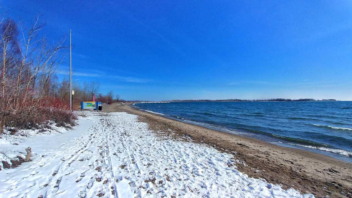 Die hübsche Insel Ward Island, nur wenige Kilometer von Toronto entfernt