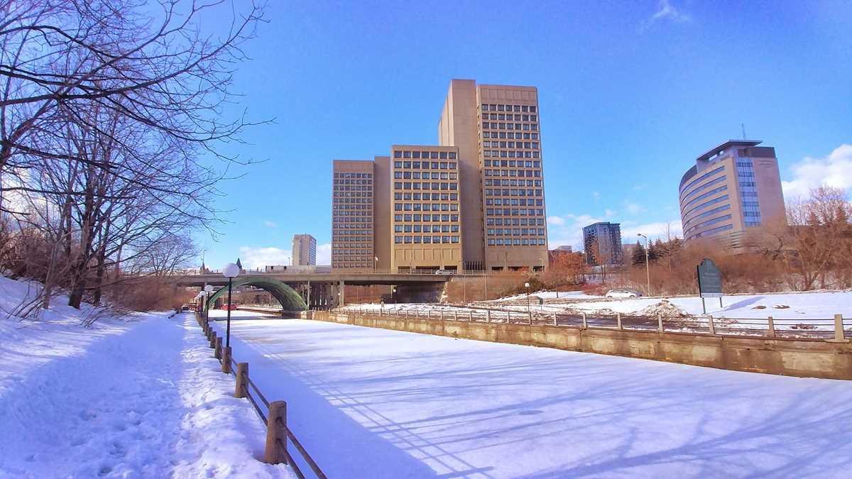Der Rideaukanal in Ottawa
