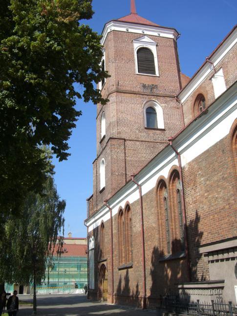 Die Kathedrale von Kaunas - nett, aber nicht ganz so imposant