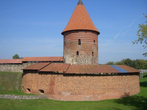 Die Burg von Kaunas - Gründungsort der Stadt