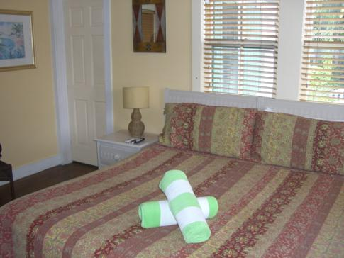 Unser Doppelzimmer im Wicker Guesthouse auf Key West