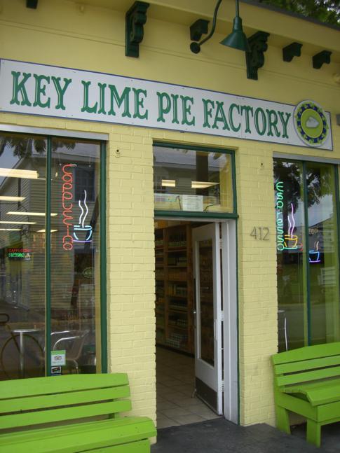 Das vielleicht berühmteste Essen in Key West: der Key Lime Pie