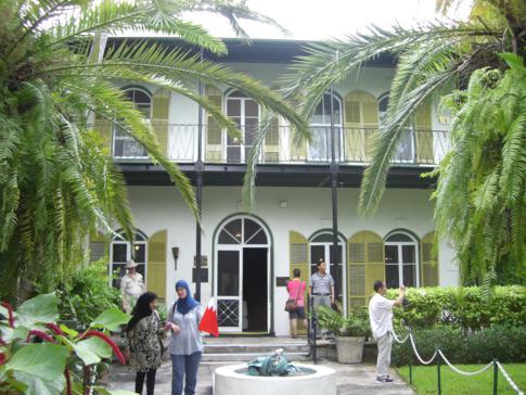 Das Wohnhaus von Ernest Hemmingway auf Key West