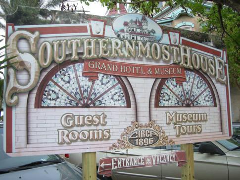 Am südlichsten Punkt der USA darf auch ein Southernmost House nicht fehlen