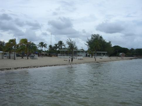 Der Higgs Beach, mindestens genauso südlich wie der Southernmost Point