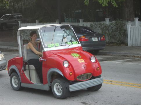 Auch hiermit kann man sich in Key West fortbewegen und so die Insel erkunden