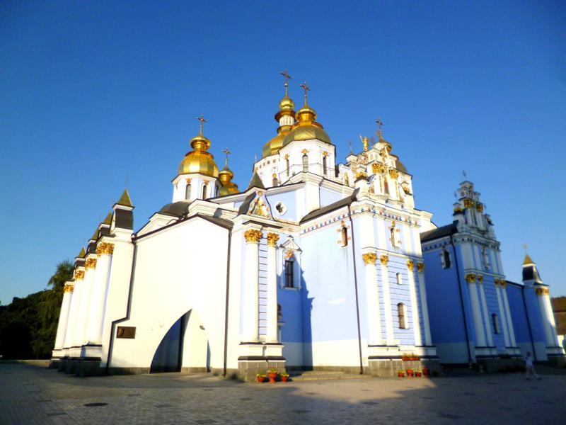 Das St. Michaelskloster in Kiew, Hauptstadt der Ukraine