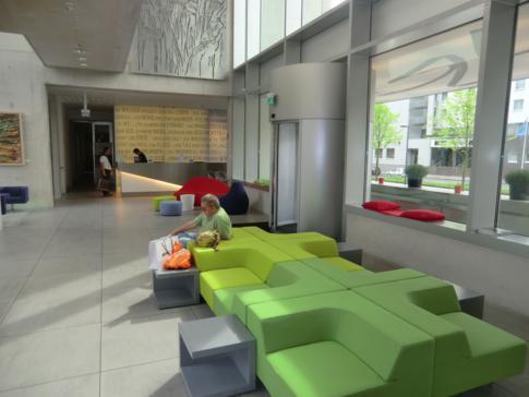 Die Lobby im art'otel Cologne