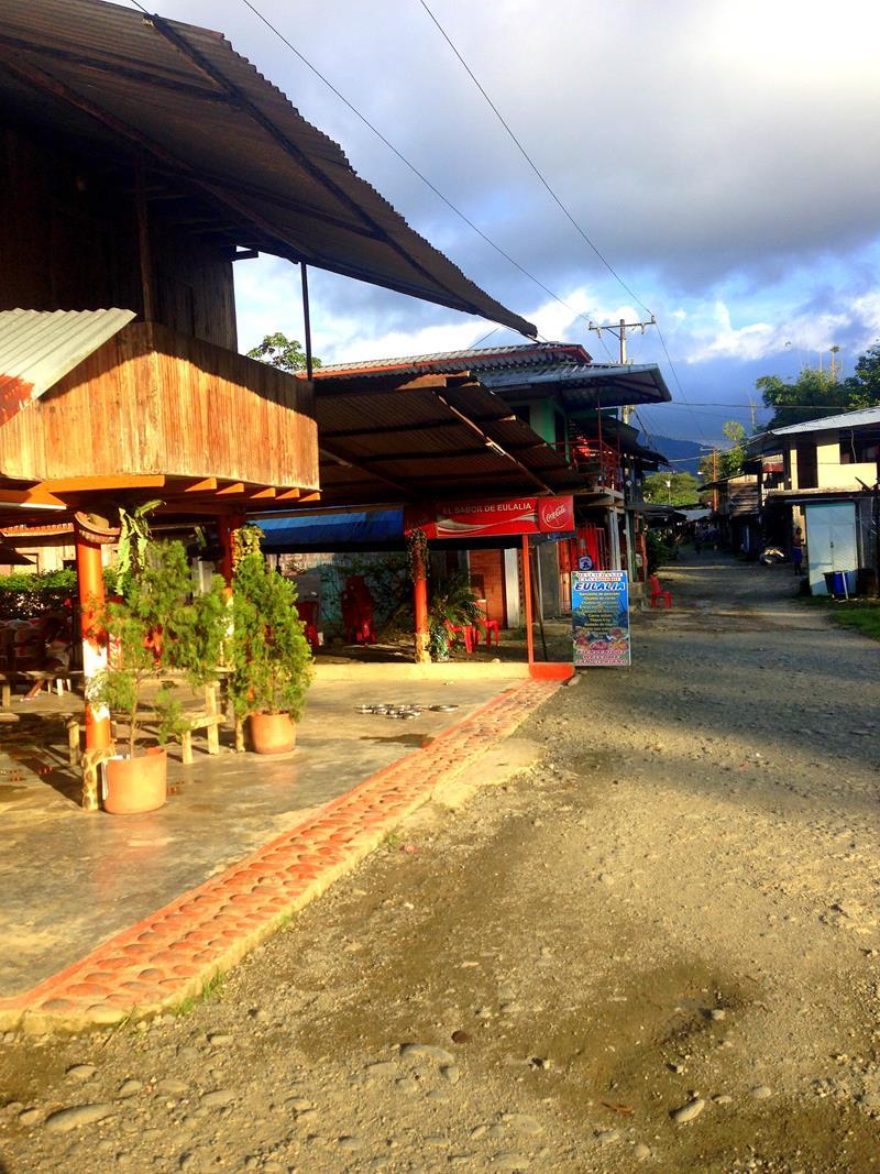 Das kleine Dörfchen San Cipriano im Westen von Kolumbien