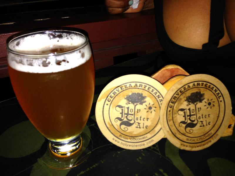 Leckeres Craft-Beer in der Holy Water Ale Brauerei in Buga
