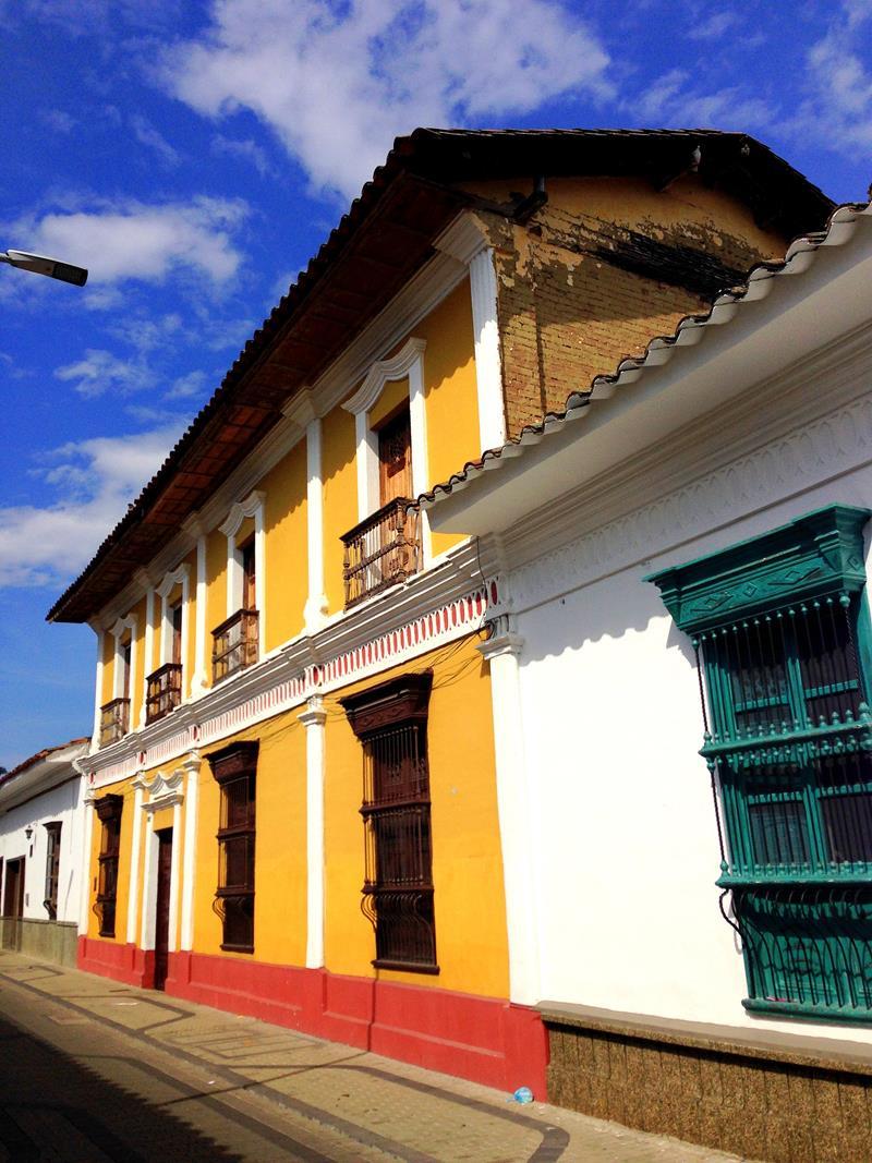 Die historische Altstadt von Buga, einer Kleinstadt im zentralen Kolumbien