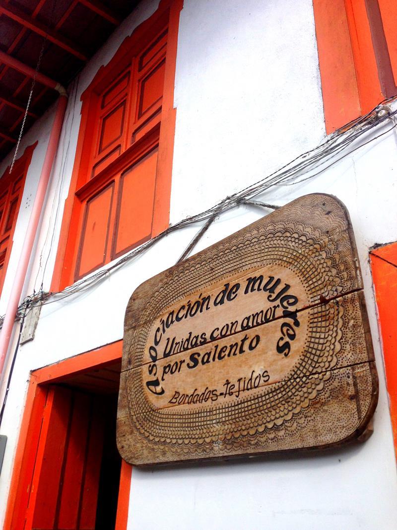Salento, ein kleines Bergdorf in der Zentralkordillere von Kolumbien